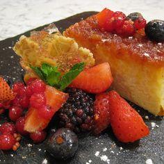 FLAN DE ARROZ CON LECHE eym Flan, Trifle, Cookie Box, Fruit Salad, French Toast, Cookies, Breakfast, Cake, Sweet