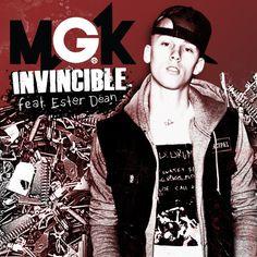 """Invincble"" by MGK featuring Ester Dean  Website: http://www.mgklaceup.com Facebook: http://www.facebook.com/machinegunkellymusic Twitter: http://www.twitter.com/machinegunkely YouTube: http://ww"