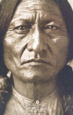 Sitting Bull Native American Indians