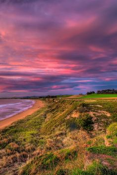 The Sun sets on a beach near Oamaru on the South Island, New Zealand - The Photos say it all... Why you should visit New Zealand right now!  | The Planet D: Adventure Travel Blog