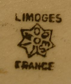 Pottery and Porcelain Marks: Coiffe Limoges France