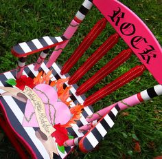 i should do something like this to my little girls :) rocking rocking chair