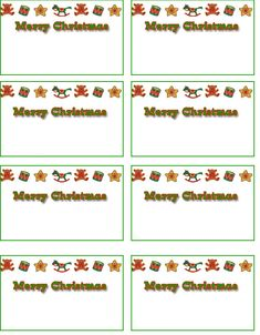 Freebie printable christmas holiday tags for scrap booking gift free printable christmas cards free christmas name tags free printable holiday name tags negle Image collections