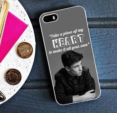 Shawn Mendes Stitches Lyric Case iPhone 4 5 6 6s Plus Samsung S iPod 5 HTC Case