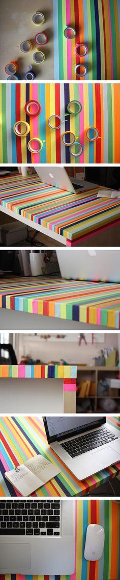 Mesa arcoiris - Muy Ingenioso