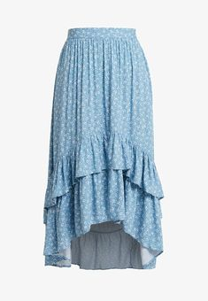 New Look ZARA DISTY DOUBLE TIERED - Pliceret nederdel /Nederdele med folder - blue - Zalando.dk Look Zara, Fashion Beauty, Womens Fashion, Mode Inspiration, Modest Outfits, Hair Ties, Fasion, New Look, Ballet Skirt