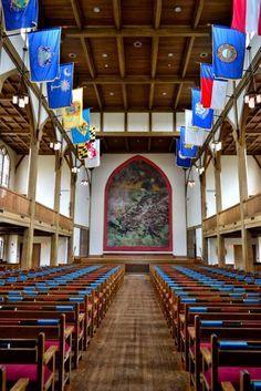 Church at VMI by StanguPhotography I'll never forget the overwhelming emotions while attending a Memorial Service for the KIA/MIA Brother Rats of 1966 during the 25th reunion.