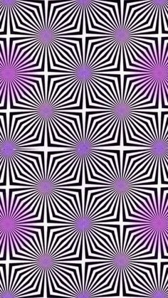 This is an example of movement. If you stare at it you'll see the picture moving. It uses directional forces created by actual lines. Optical Illusion Wallpaper, Optical Illusion Paintings, Optical Illusions Pictures, Trippy Pictures, Illusion Pictures, Look Wallpaper, Trippy Wallpaper, Wallpaper Backgrounds, Iphone Wallpaper