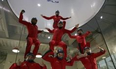 iFLY Austin Indoor Skydiving, all the fun, none of the risk of plummeting to your death!