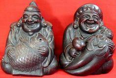 Daikoku (Daikokuten) - японский Бог фермеров, сельское хозяйство, Райс, Богатство, Торговля, Кухня; Японский буддизм к Z Фото словарю