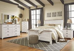 white washed bedroom furniture blue willowton 4piece panel bedroom set 1016 best white washed images on pinterest in 2018 negro historia