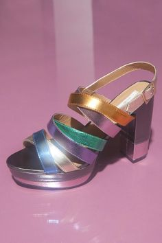 Ecote Strappy Platform Heel