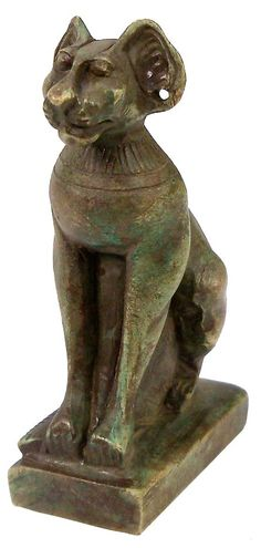 Go Big: Ancient Egyptian Statues 305-300 BC Cat