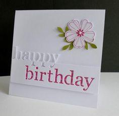 Die Cut Birthday by sistersandie - Cards and Paper Crafts at Splitcoaststampers