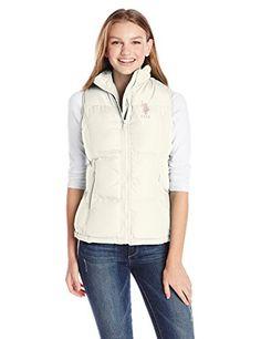 U.S. Polo Assn. Women's Classic Mock Neck Polyfill Vest, Oat, Small U.S. Polo Assn. http://www.amazon.com/dp/B00KXNCKWA/ref=cm_sw_r_pi_dp_6z-qub0EWTY45