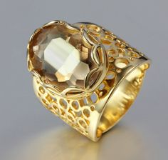 Find More Rings Information about Unisex ring 18K gold plated hollow ring holder Champagne stone Serious power rings ALW1804,High Quality ring dice,China ring industrial Suppliers, Cheap ring garnet from ALW Fashion Focus on Aliexpress.com