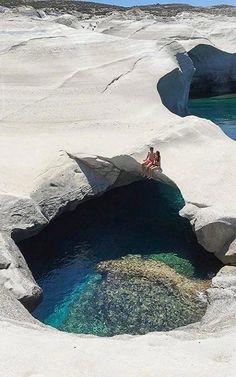 Greece Travel Inspiration - Sarakiniko - Milos Island, Greece | by milesgray88