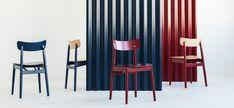 Blog - Jakie krzesła do drewnianego stołu? Mebloscenka Grey Stain, Braveheart, Black Stains, Restaurant Interior Design, Types Of Wood, Upholstery, Chair, Room, Home Decor