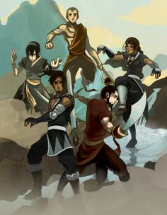 Avatar, why does Zuko look like Iroh Avatar Aang, Avatar Airbender, Team Avatar, Zuko, Fanart, Mejores Series Tv, Avatar World, Water Tribe, Avatar Series
