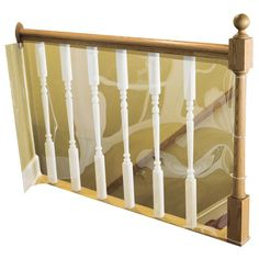 Cardinal Gates 15 ft. Roll Child Safety Indoor Banister Guard