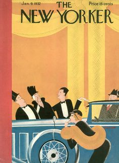 The New Yorker - Saturday, January 9, 1932 - Issue # 360 - Vol. 7 - N° 47 - Cover by : Theodore G. Haupt