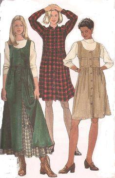 1990's Sewing Pattern  Simplicity 7752 Dress by jennylouvintage, $8.00