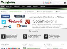 SNAP, Publicar automático a todas las redes sociales Wordpress, Content, Marketing, Blog, Socialism, Social Networks, Blogging