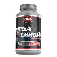 Die Mega Chrome Kapseln von BBN Hardcore enthalten Chrom in Form von Chrompicolinat. Chrom ist ein essentielles Spurenelement, das heißt, dass der Körper es nicht selber herstellen kann. Das bedeutet, dass es dem Körper über die Ernährung oder mit Hilfe von Supplementen zur Verfügung gestellt werden muss. Pro Kapsel enthalten die BBN Hardcore Chrome Kapseln 60 µg Chrom.
