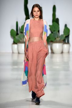 Mara Hoffman Spring 2015 Ready-to-Wear Collection 2015 Fashion Trends, Fashion Ideas, Mara Hoffman, Spring 2015, Spring Summer, Summer 2015, Long Sweaters, Classy Outfits, Runway Fashion