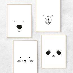 Black and white nursery prints drawing bear Bear print - Bear nursery print - Bear nursery decor - Bear nursery art - Minimalist nursery art - Scandi nursery - Scandinavian nursery Nursery Prints, Nursery Wall Art, Nursery Decor, Nursery Drawings, Room Decor, Nursery Ideas, Panda Nursery, Animal Nursery, Minimalist Nursery