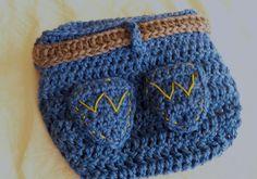 Baby Diaper Cover Newborn Diaper Cover  Western  by JojosBootique, $25.00