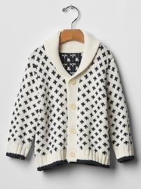 Star shawl cardigan ($31.99 at Gap)
