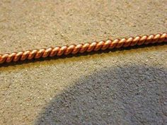 using a drill to twist wire, like cording