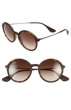Ray-Ban 50mm Round Sunglasses available at #Nordstrom  Need these!!