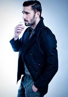 style...cigarette..facial hair..unf
