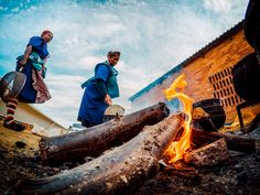 Photo of the Day! Kyle Lord captured this shot of locals preparing a BBQ at the Sani2C mountain bike race in Kwazulu-Natal, South Africa.  Submit your best travel photos at g.gopro.com/submit