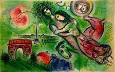 Chagall - Roméo et Juliette