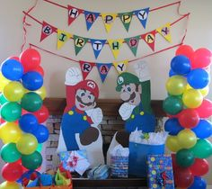 "Photo 1 of 14: Super Mario Brothers / Birthday ""It's Super Mario Time!"" 