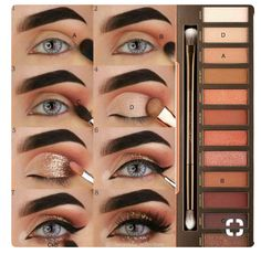 Guide for Naked eye palette and follow me Maria Siddiqui