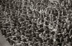 """not a nazi bless it August Landmesser refused to do the """"Sieg Heil"""" salute during a Nazi rally August Landmesser, Rare Historical Photos, Rare Photos, Old Photos, Moving Photos, Christopher Robin, Louis Daguerre, Fotografia Social, German Men"""
