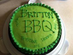 Family BBQ cake
