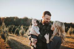 Christmas tree farm shoot  Family shoot  Baby love  Shalon Blackwell Photography