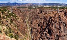 Cross If You Dare: The Most Terrifying Bridges in the USA Royal Gorge Bridge — do you dare? (Photo: aspidoscelis/Flickr)