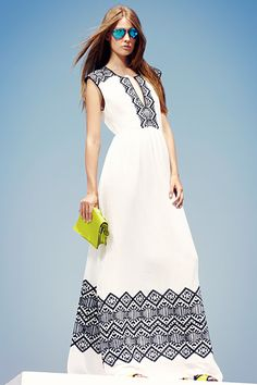 BCBG Max Azria Resort 2013.