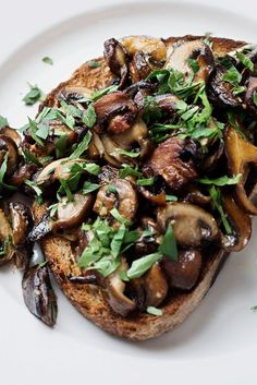 Mushrooms on Toast R