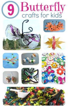 Fun butterfly crafts for kids