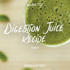 1/2 fennel bulb, 1 cucumber, 1 apple, 2 celery stalks, 1 lime, 1 inch ginger, 1 small handful of mint leaves, 2 oz. aloe vera. Juice and enjoy straight away!