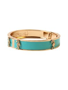 Turquoise Seahorse Bangle Bracelet by Amrita Singh at Gilt $19!