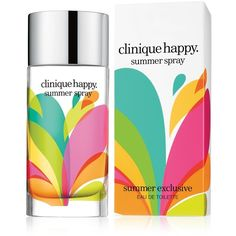 Clinique Happy Summer Spray Eau de Toilette found on Polyvore
