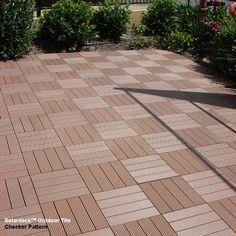 Solardeck Tiles for Outdoor timber decks/pergolas / outdoor decking
